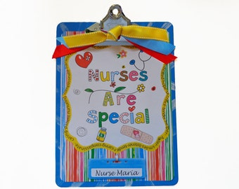 Personalized Nurse Clipboard