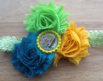 Hanukkah headband Chanukah headband jewish headband childrens headband