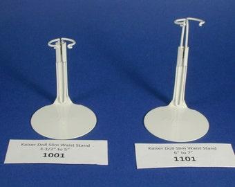 Kaiser Doll Stands; Kaiser 1001 Stand; Kaiser 1101 Slim Waist Doll Stand; Metal Doll Stand