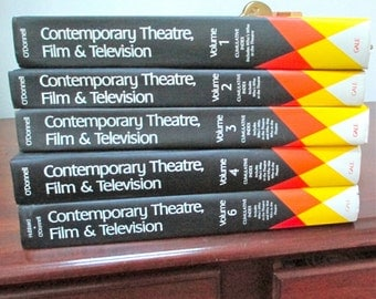Contemporary Theatre, Film & Television Vols. 1,2,3,4,6 Continuation of Who's Who in the Theatre