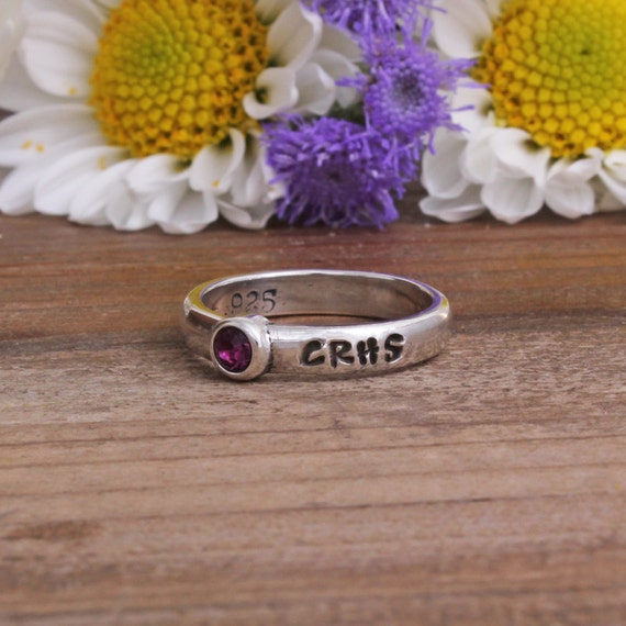 class rings sted with name high school or a by
