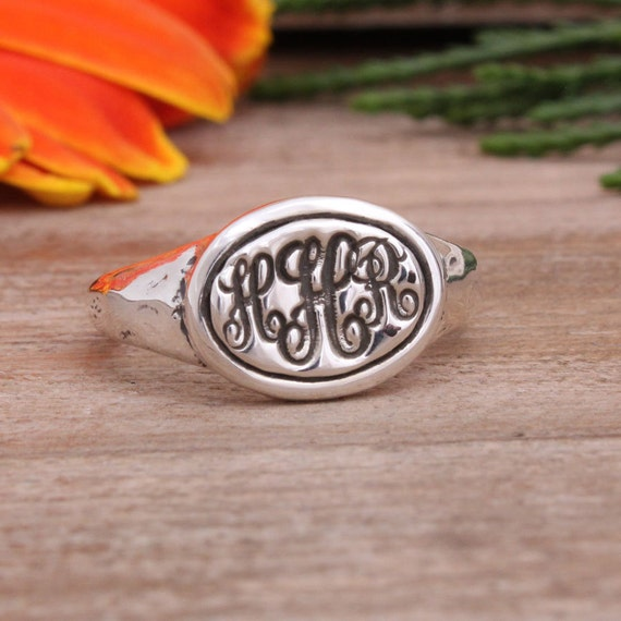 Items similar to Personalized Class Rings makes a Great Graduation Gift Stam