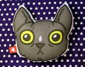 Pet Portrait Pillow - Winsor