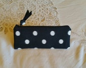 CUSTOM ORDER 4 x 4 zippered pouches for Dawn
