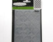 Dot Circle folder - embossing folder - A2 Embossing Folders - Darice folders - card making - Darice embossing folders - discontinued