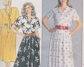 Butterick 3738 Misses' Shirt and Skirt Sizes 8, 10, 12 Evan-Picone Design Vintage UNCUT Pattern Rare and OOP
