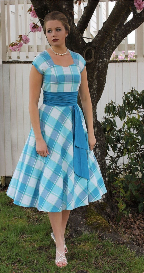 Womens Teens Sewing Pattern Swing Dress Circle Skirt With