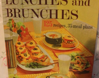 better homes & garden lunches and brunches cookbook