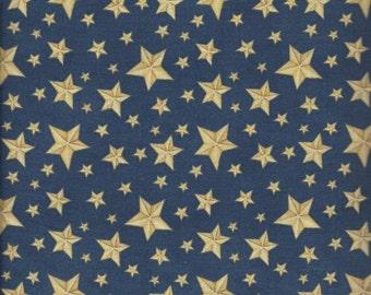 Price Reduced!  Blue Stars (70150-455) - BTY - South Seas