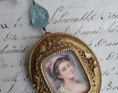 She Walks in Beauty - Vintage Assemblage Necklace