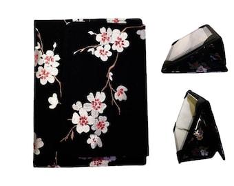 iPad Cover Hardcover Case, iPad 1, iPad 2, iPad 3, iPad 4 , iPad Mini, Kindle Fire 8.9, Nook HD Plus,  Asian Cherry Blossoms