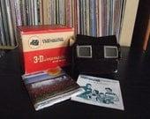 Mid Century Bakelite Viewmaster Viewfinder with Original Box & Literature