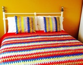 Reserved listing African wax duvet cover. Made to order in fabrics of your choice.