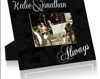 """Personalized  8""""x10"""" Frame with a 4""""x6"""" Opening"""