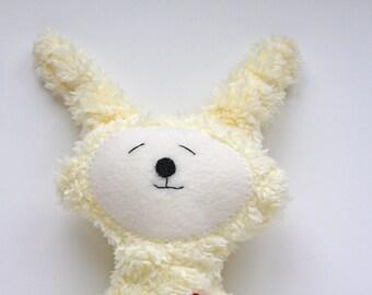 Yellow Easter Bunny -  Stuffie - Stuffed Animal - Super Soft Plushie