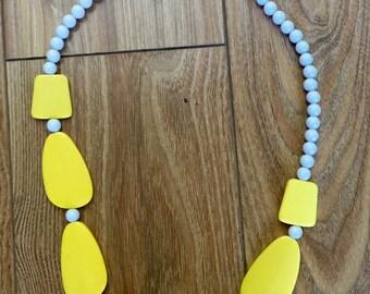 The Vintage Flinstone Costume Necklace