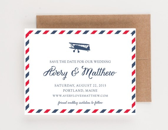 emailed save the dates