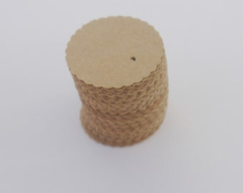 200 Tags Small Round Craft Color 200 Tags With Holes or Without Holes