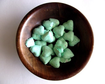Heart Seed Bomb Mint Green Wedding Favors - Seafoam Green Baby Shower Favors
