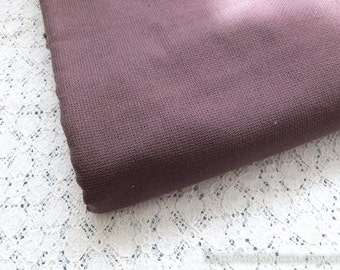 SALE Clearance 1 Yard Solid Fabric, Neat Retro Coffee Brown Color- Japanese Jacquard Cotton Fabric(1 Yard)