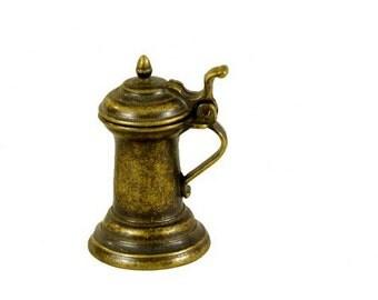 Miniature Brass Beer Tank