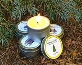 TREE SAMPLER (four 2-oz soy candles)