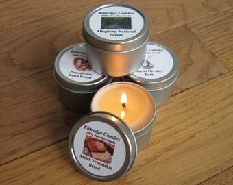 PENNSYLVANIA SAMPLER (four 2-oz soy candles)