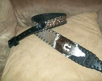 Personalized Monocled Banded Spitting King Cobra Rifle Sling 1 Available