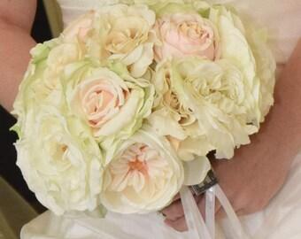 English Rose Bridal Bouquet