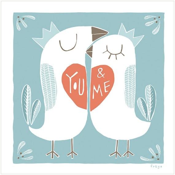 You and Me - Fine Art Print