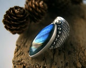 Sailing into the Aegean - Labradorite Sterling Silver Ring