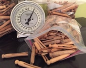 Destash Vintage Clothespins for Saving Energy or Craft Supplies THREE Bags Each Sold Separately at A Vintage Revolution