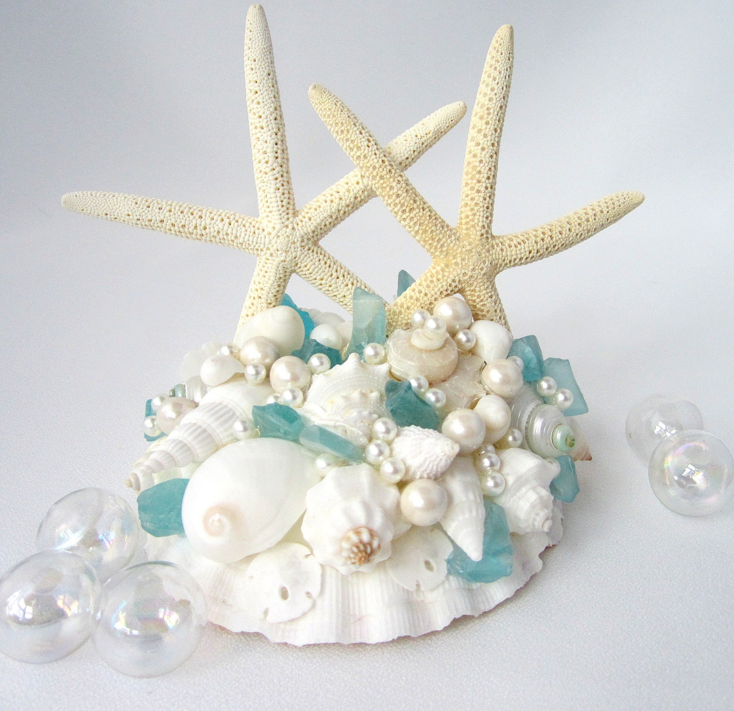 beach wedding cake topper nautical wedding cake topper. Black Bedroom Furniture Sets. Home Design Ideas