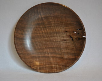 Walnut bowl 633 Free Shipping in the USA