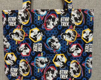 Star Trek Tote Bag/Book Bag/Project Bag