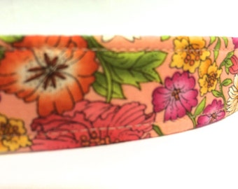 Orange Flowers Girl Dog Collar