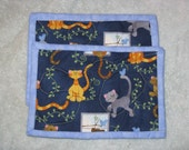 Whimsical Cats Quilted Mug Rugs