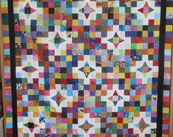 For the Love of 2 1/2 Inch Squares Quilt Top