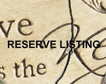 Reserve Listing for Lawana
