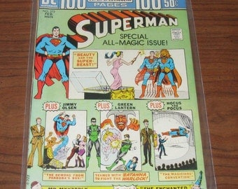 Superman 100-page comic from 1974, near mint