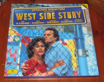 West Side Story recording, boxed set, conducted by Bernstein, 1985