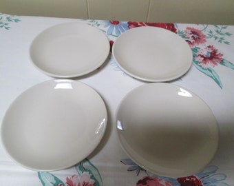 Homer Laughlin Restaurant China,White restaurant plates, Diner Dishes,Bread Plates,White Restaurant China, Restaurant ware,Childs Plate