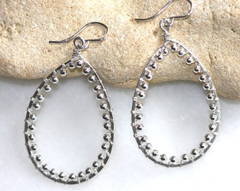Sterling Hoops unconventional