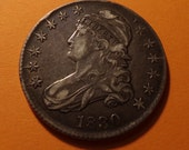 1830 Half Dollar FREE SHIPPING USA