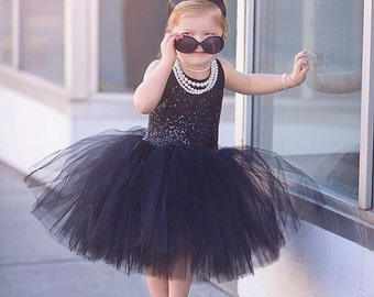 Breakfast at Tiffany's tutu dress costume size 2t custom handmade