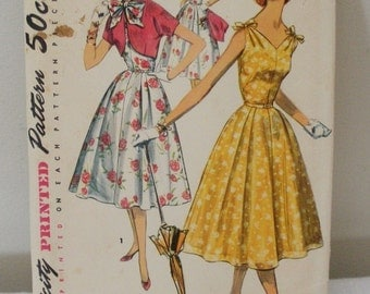 Vintage 1657 Simplicity Sewing Pattern Dress & Jacket Size 14
