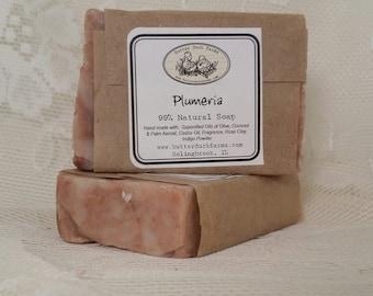 Plumeria Handmade Vegan Soap