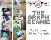 CROCHET PATTERN The Graph Beanie - Base Hat Pattern & Tutorial