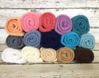 Ready To Ship, you choose color, Chicaboo newborn stretch wrap, newborn photo props, stretch knit wrap, newborn wrap, wholesale baby wrap