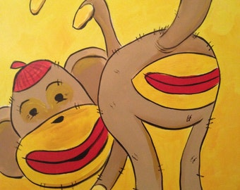 Red Ass Monkey (2014) by Mark Redfield